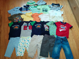 Lot of Boys' Clothes - size 12-18 months