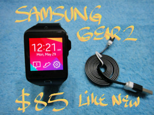 Firm $95 SmartWatch Samsung Gear2 MintCond+charger+cable
