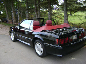 1987 ford mustang convertible gt