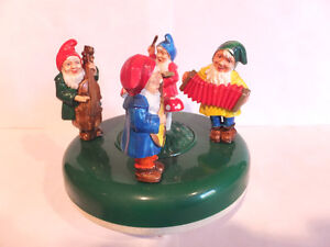MUSICBOX MUSICAL GNOMES  FROM GERMANY London Ontario image 1