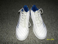 Adidas running shoes size 10.5 worn only few times. Like new.