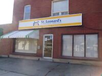 1550/sq.ft. Commercial Space with 2 Showroom Windows