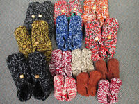 Kozy, Compfy, warm, Knitted slippers for sale  Small/Medium Adul