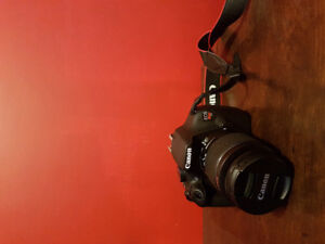 Canon t5 with 18-55mm kit lens