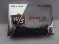 Box of Wilson golf balls