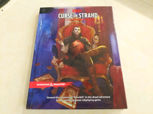 Dungeons and Dragons 5th edition Curse of Strahd campaign
