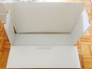 BRIMNES - 4 drawers for full/double bed white - great condition!