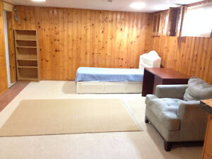 One Bedroom basement apartment  for professional single
