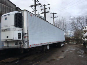 2003 Dorsey reefer trailer tri axle