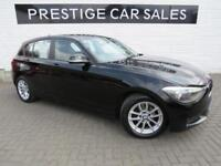 2015 BMW 1 Series 2.0 118d SE Sports Hatch (s/s) 5dr Diesel black Manual