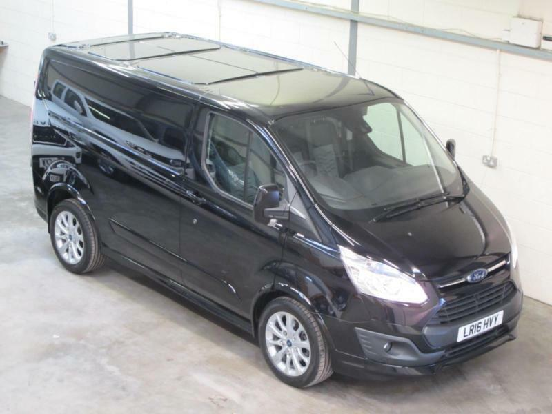 ford transit custom sport 2 2tdci 155ps l1h1 in black nearly now s0ld in newcastle tyne. Black Bedroom Furniture Sets. Home Design Ideas