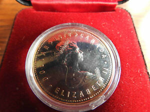 1978 Proof Dollar coin in original case - Commonwealth Games