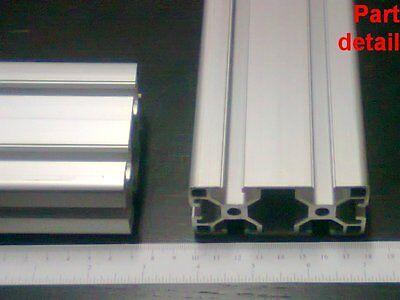 Aluminum T-slot 4080 Extruded Profile 40x80-8 Length 400mm 16 2 Pieces Set