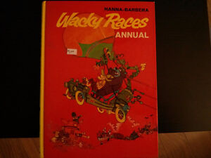 1974 Hanna-Barbera Wacky Races Annual  hard cover comic