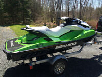 2014 Seadoo GTI SE 130 + trailer, cover, warranty, only 18 hours