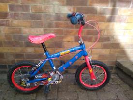 Boys Spider Man bike
