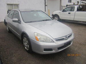 JUST ARRIVED FOR PARTS 2007 HONDA ACCORD @ PICNSAVE WOODSTOCK!