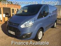 2013 (63) FORD TRANSIT CUSTOM TREND ETECH 270 2.2 125PS SWB/ LOW ROOF BLUE *****