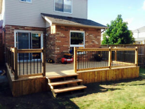 Decks, Fences and Pergola Services!