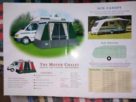 Motorhome/Caravan Awning Canopy... Weatherproof... Barely used