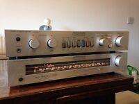 Vintage Luxman amplifier
