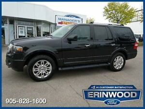 2011 Ford Expedition Limited8CYL/LTHR/PROOF/NAV/DVD/REV CAM