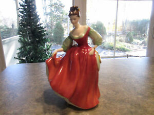 Royal Doulton Figurine - Fair Lady (Red) London Ontario image 1