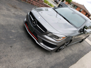 2015 Mercedes Benz CLA250 AMG PKG|NAV|LEATHER|HEATED SEATS|PANO|