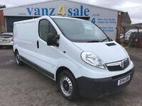 2014 - Vauxhall Vivaro 2.0CDTi ( 115ps ) ( EU V ) 2012MY 2900 LWB