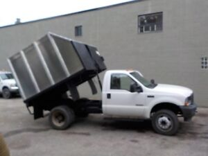 2004 FORD F 450 DUMP CHIPPER