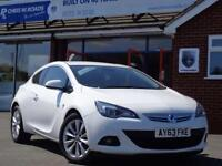 2013 63 VAUXHALL ASTRA GTC 2.0 SRI CDTI (160) GTC TURBO DIESEL * HALF LEATHER *
