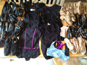 Dance wear/shoes and collectibles