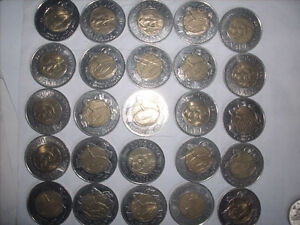 Selling My Canadian 2 Dollar Coin Collection