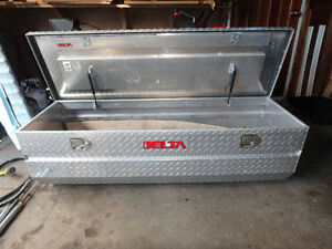 Aluminum Full Size Tool Chest for Truck Bed by Delta