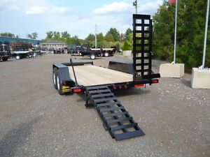 "Bobcat"" HD Low-Bed Float Trailers by Miska Trailer"