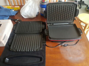 George Foreman Grill w/ Attachments