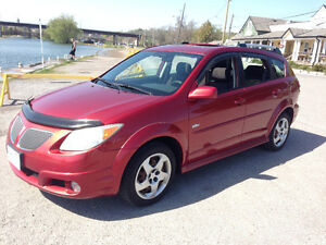 2007 Pontiac Vibe LOADED CERT & ETESTED Sunroof+Hitch+AC