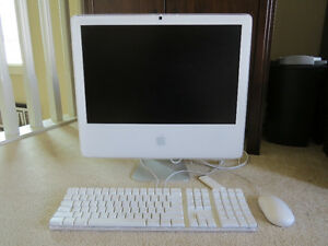 "*REDUCED PRICE* 20"" iMAC Desktop Computer"