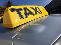 Doe approved NEW LED TAXI ROOF SIGN