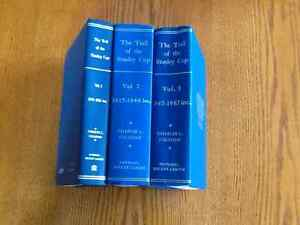 THE TRAIL OF THE STANLEY CUP-THREE VOLUMES-1893 to 1967