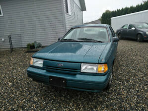 1992 Ford Tempo GL, w/efficient 2.3L 4 cyl with OD transmission