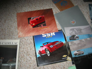 About 100 dealer brochures and CD's