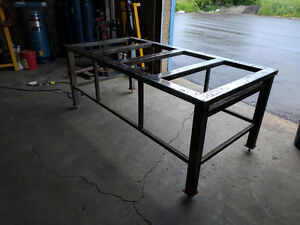 Work bench/table with adjustable legs for sale!