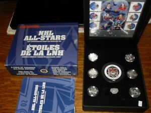 2002 NHL ALL STARS COMMEMORATIVE STAMP AND MEDALLION SET