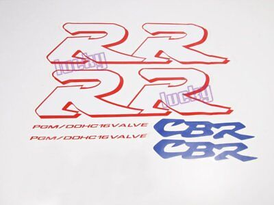 Motorcycle Fairing Sticker Decal for CBR 600 900 1000 954 929 F5 RR MC22 #33