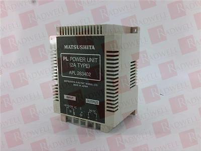 MATSUSHITA ELECTRIC APL263402 / APL263402 (RQANS2)