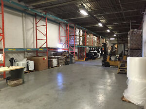 OFFICE with WAREHOUSE - SHARED OCCUPANCY, READY TO MOVE IN