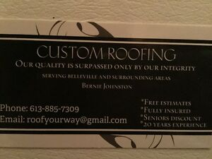 CUSTOM ROOFING Kingston Kingston Area image 2