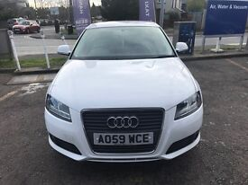 Audi A3 Technik 2009 In White, Only 58,000Mls, F/S/H, Immaculate Inside+Out!
