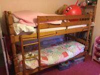 Children's Single Bunk Beds & Mattresses